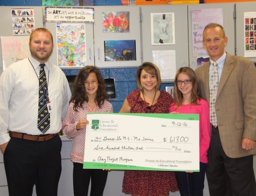 GIEF Kicks off the New School Year by Funding Middle School Grant!