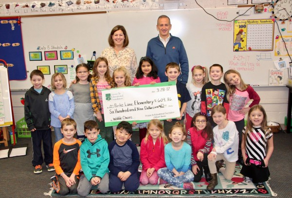 GIEF Funds Grant for Alternative Seating in Davis' 1st Grade Classroom