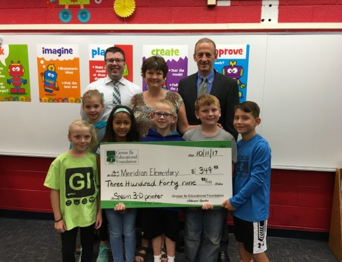 GIEF Funds Grant for 3D Printer at Meridian Elementary